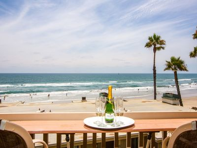 Incredible 180° Whitewater Ocean Views! West-facing, Front Row D Building