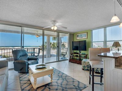 Photo for 2nd Floor Comfortable bay view Condo, Beach setup & bicycles included