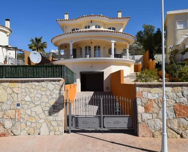 Photo for Lovely detached villa with sea views and new pool.  PRICES REDUCED