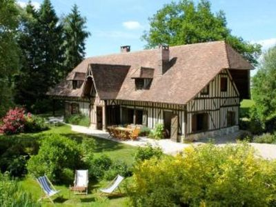 Photo for LARGE COUNTRY HOUSE IN NORMANDY - Saint-georges-du-vievre