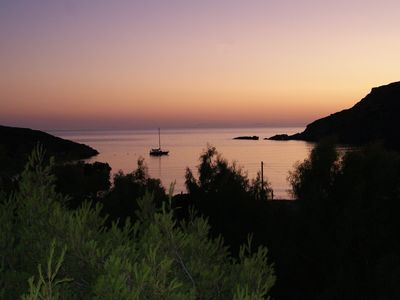 Photo for On the beach - Fellos Bay - exclusive location