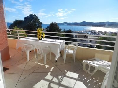 Photo for LAVANDOU. SEA VIEW. NEAR BEACH AND SHOPS. 3 ROOMS 6 PEOPLE