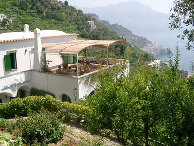 Photo for Typical Villa at unique coast with unspoilt sea view