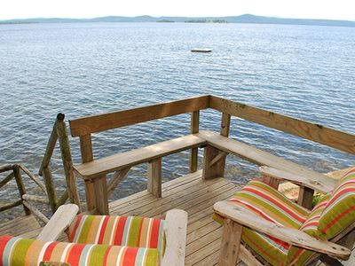 Photo for Secluded & Private Lakefront Cottage–Awesome Views–Peace & Quiet