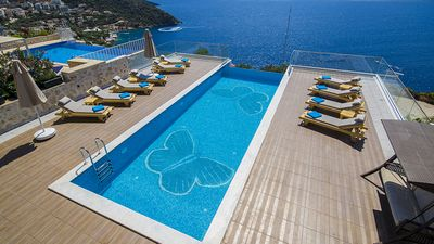 Photo for Blue Butterfly maximizes the impact of the superb views over Kalkan bay