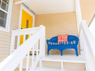 Photo for Newly updated home steps from the beach