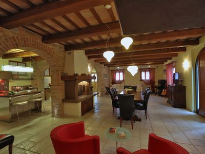 Photo for Private villa with pool, air-conditioning, wi-fi, pet-friendly, garden, Marche
