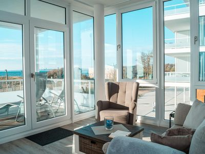 Photo for Exclusive holiday apartment with sea views, close to the beach for 4 people.