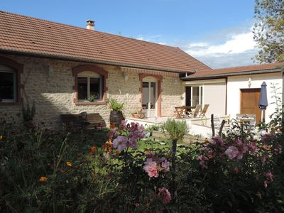 Photo for Cottage 125 m2 classified 4 star Villa Roland in Burgundy at the vineyards