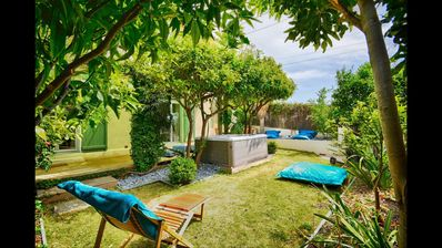 """Photo for The lavandou """"Neroli"""" 3 * spa, sea view, everything has 8 beds"""