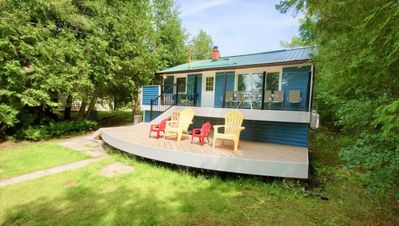 Photo for A Stunning 4-bedroomed Cottage on Sturgeon Lake