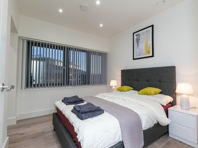 Photo for Premier One-bedroom Apartment Heathrow + Parking