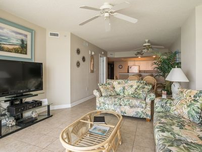 Photo for Crescent Keyes - 1103  Comfortable 2-bedroom condo overlooking the beach!