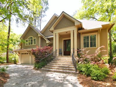 Photo for This 5 bedroom, 4 bath, modernly styled, chic home located in Sea Pines Plantation on Hilton Head Is