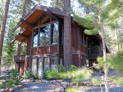 Photo for Luxurious Classic Tahoe Home - Incline Village   Close to Beach, Trails, Skiing