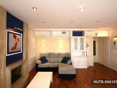 Photo for Luminoso  apartment in Sitges with WiFi, air conditioning, private terrace & lift.