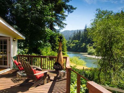 Photo for Riverfront Cottage in Sonoma Wine Country | Beach & River Access | Dog Friendly