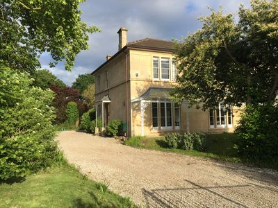 Photo for A large elegant bath stone property almost equidistant between Bristol and Bath.