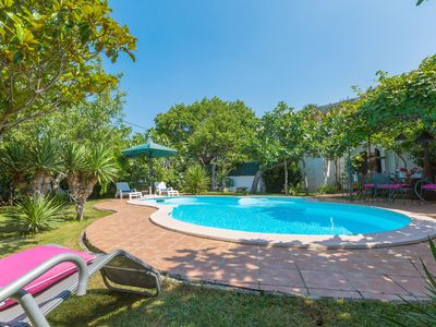 Photo for Panoramic view and dream pool - Villa Cecilia