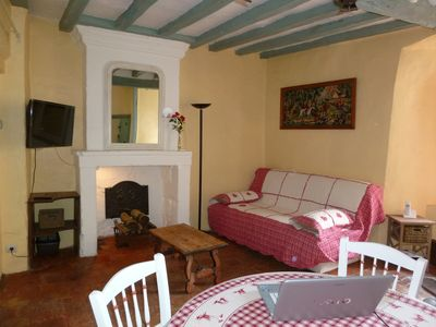 Photo for Historic cottage XVI century - 50 m² in the city center - Quiet, comfortable