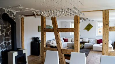 Photo for Luxury Fewo Cuckoo's Nest in the Black Forest with sauna, large garden, BBQ, pond