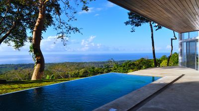 Photo for Ocean view villa surrounded by rain forest