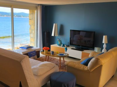 Photo for Exceptional apartment on the beach for 6 people villa-albatross. fr