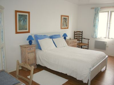 Photo for La Cour, 4 people rental in a kids friendly converted farm with heated pool