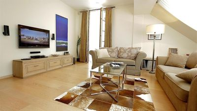 Photo for Apartment in the center of Vilnius with Air conditioning, Terrace, Washing machine (693779)