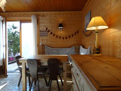 Photo for 3 room apartment in Chalet Savoyard Ground Terrace 50 M tracks