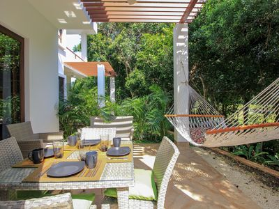 Photo for Beautiful Condo Surrounded by Lush Mayan Jungle by olahola