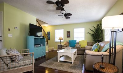 Photo for LARGE 4 BEDROOM/HUGE HEATED POOL/GREAT REVIEWS/WALK TO BEACH