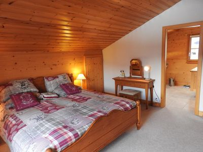 Photo for Chalet le Mûrier Family chalet about 200m2 with 5 bedrooms, very cosy with a nice view over the Alps