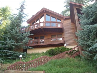 Photo for Chalet-Style Mountainside Home