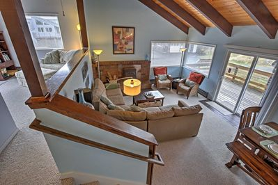 The lovely home boasts 2,500 square feet of comfortable living space.