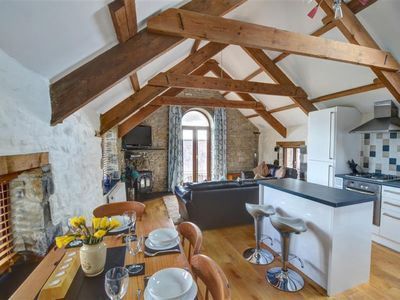 Photo for Vacation home Palmerston Barn in Haverfordwest - 4 persons, 2 bedrooms
