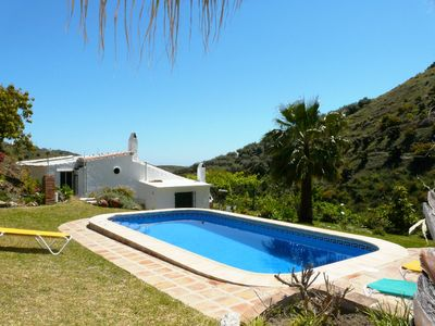 Photo for Villa with private pool and not far from the sea in a beautiful rural location.