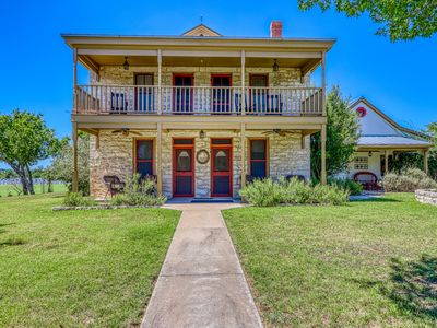 Photo for Historic Hill Country home w/ spacious balcony & patio - 2 dogs welcome!