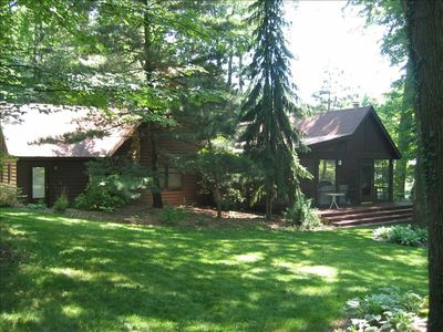 Large corner lot with great yard and huge screen porch