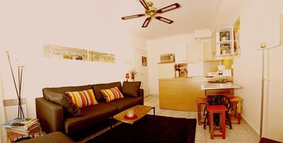 Photo for Lovely new apartment comfortable, at the foot of the harbor, Little Marsh Nicois