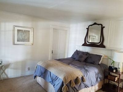Photo for (Queen) Private Suite in Historic 1823 China Lake Farmhouse