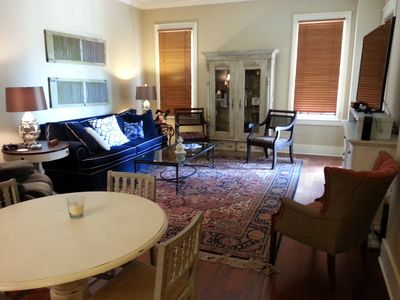 Photo for Luxury 2 BR Condo on the Square with private balcony.  Walk to Ole Miss campus!