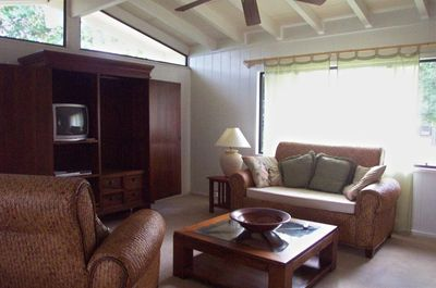 Living Room, Teak furniture, TV