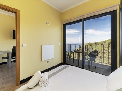 Photo for On the cliffs with ocean view, perfect for walking – Top of the Cliff Apartment II