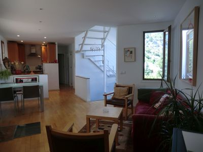 Photo for Beautiful apartment with terrace overlooking the roof top
