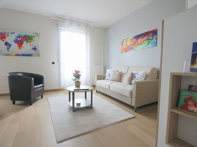 Photo for 1BR Apartment Vacation Rental in Serris, Île-de-France