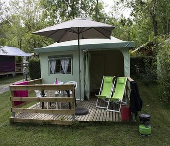 Photo for Camping Saint-Amand *** - Funflower Eco 3 Rooms 4 People