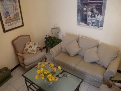 Photo for Stylish two bedroom apartment in the center of Cannes. Air conditioning