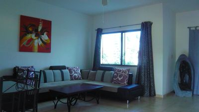 Photo for Nice duplex house in secured residence, front beach. Pool and social area.