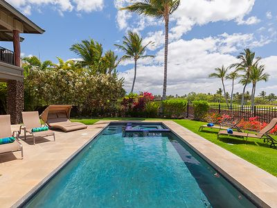 Photo for Beautiful Two-Story Home, Private Pool, Hot tub, Sleeps 6